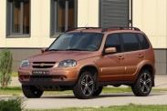 Юбилейная версия Chevrolet Niva в продаже