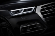 Новые тизеры кроссовера Audi Q5 второго поколения