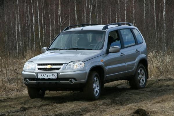 Девушка с характером / Тест-драйв Chevrolet Niva