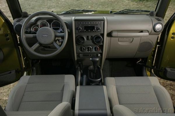 Буераки, реки, раки / Тест-драйв Jeep Wrangler