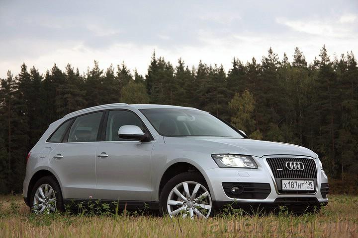 Audi Q5: легкая артиллерия