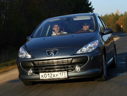 Плата за дизайн / Тест-драйв Peugeot 307