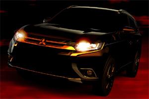 Обновленный Mitsubishi Outlander, обновленный Митсубиси Аутлендер