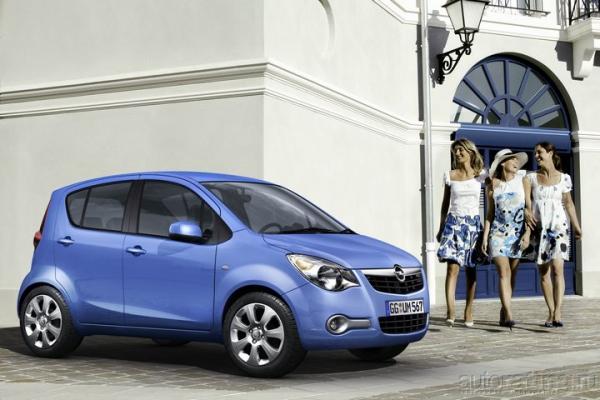 Городской малютка / Тест-драйв Opel Agila