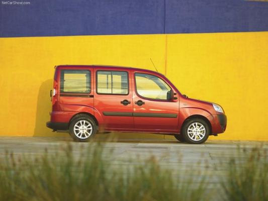 Стартовали продажи новой модификации FIAT Doblo Panorama