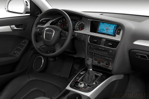 Крутой маршрут / Тест-драйв Audi A4
