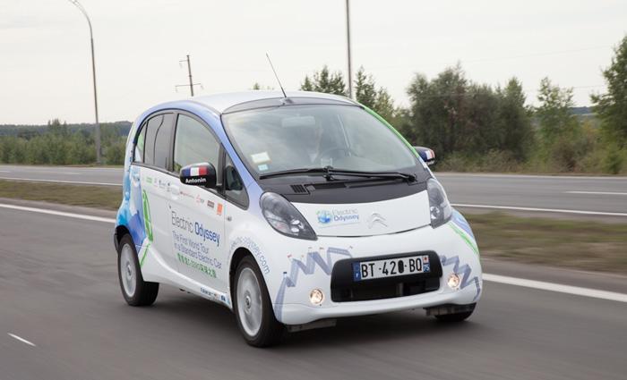 Электрическая Одиссея Citroen C Zero, или вокруг света на электромобиле