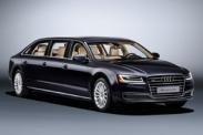 Компания Audi представила эксклюзивный лимузин A8 L Extended