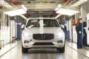 Первый Volvo XC60 нового поколения сошел с конвейера