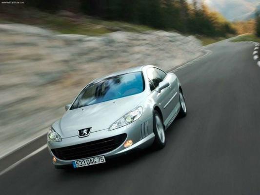 Стильные мира сего / Тест-драйв Peugeot 407 Coupe, Alfa Romeo Brera