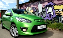 Mazda2: город манит