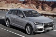 Гибридный Audi Q7 e-tron подготовили для азиатского рынка