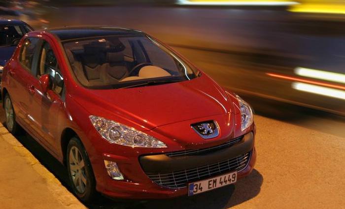 На Peugeot 308 по городу контрастов