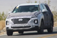 Hyundai тестирует новое поколение Santa Fe
