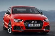 400-сильный седан Audi RS3 показали в Париже