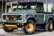 Пикап Land Rover Defender появится в 2020 году