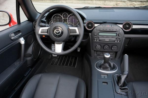 Верхом на родстере / Тест-драйв Mazda MX-5