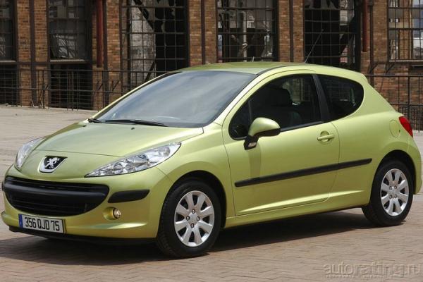 """Мечты блондинки, или эти стильные """"Peugeot 207"""""""