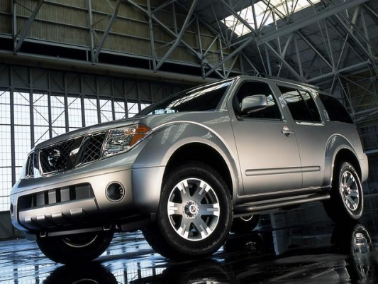 Весеннее перемирие / Тест-драйв Nissan Pathfinder и Mitsubishi Pajero