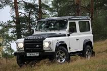 Land Rover Defender: лед и пламя