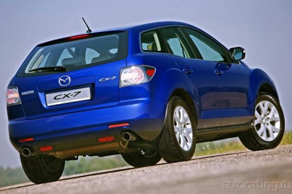 Mazda с европейским лицом / Тест-драйв Mazda CX-7