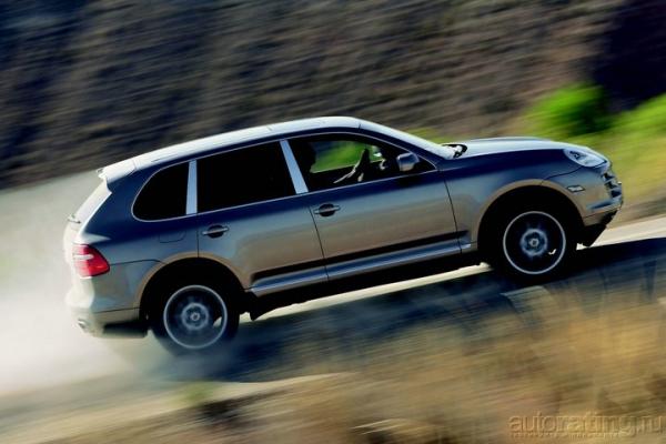 Непохожие / Тест-драйв Audi Q7, BMW X5, Mercedes-Benz GL 450 и Porsche Cayenne S