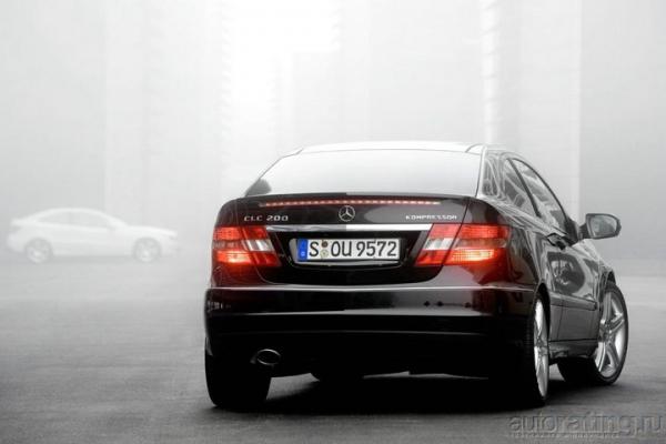 Обходной маневр / Тест-драйв Mercedes-Benz CLC-class