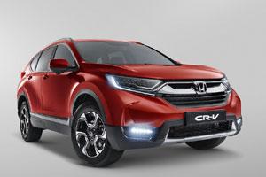 Honda представила новое поколение CR-V для России