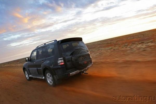 Mitsubishi Pajero и Jeep Grand Cherokee