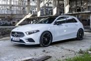 Mercedes озвучил цены на полноприводный A-класс