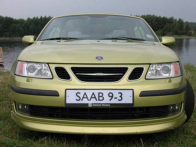 Saab 9-3 / Тест-драйв Сааб 9-3