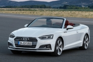 Новое поколение кабриолетов Audi A5 и S5 представлено официально