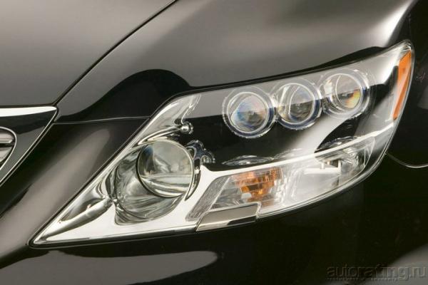 Королевская забота / Тест-драйв Lexus LS 460