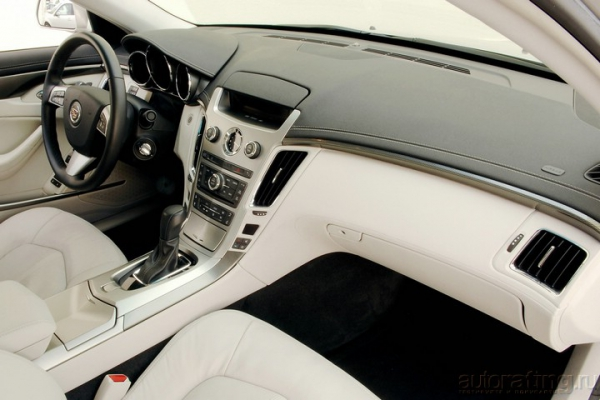 Железный дровосек / Тест-драйв Cadillac CTS