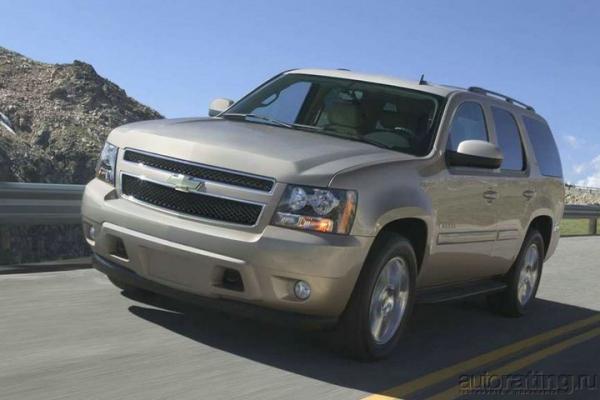Черный великан / Тест-драйв Chevrolet Tahoe