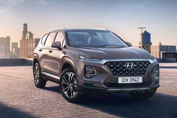 Очередное видео нового Hyundai Santa Fe