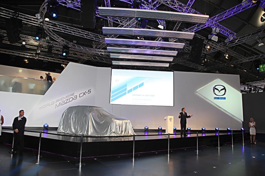 Mazda на автосалоне во Франкфурте 2011