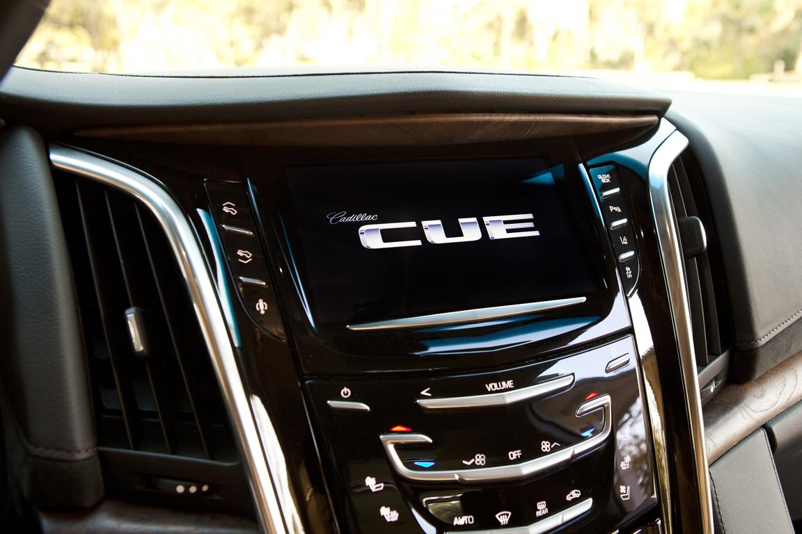 Cadillac Escalade ESV Медиасистема CUE