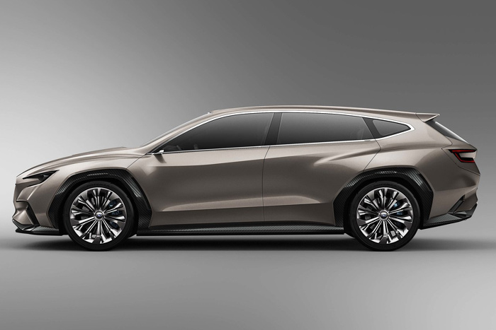 Субару представил концептуальный автомобиль нового универсала VIZIV Tourer