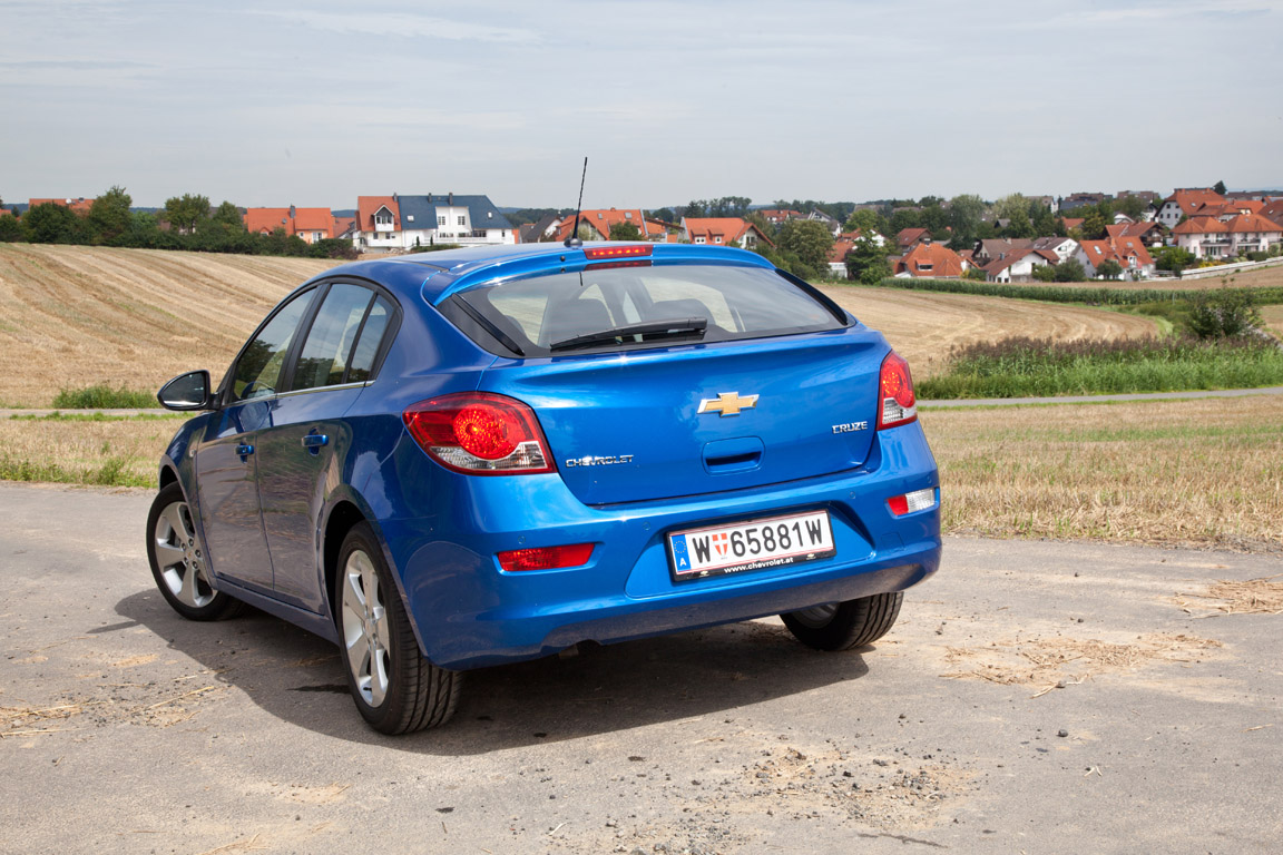 Chevrolet Cruze хэтчбек: Новый формат