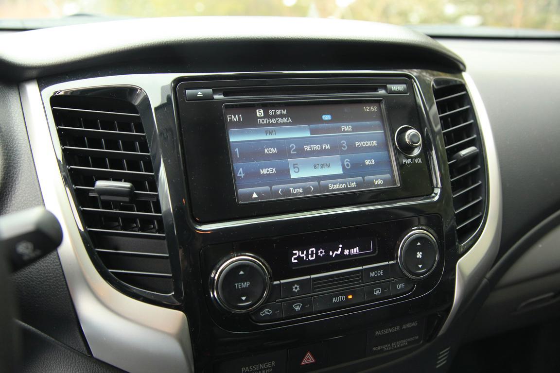 Fiat Fullback Медиасистема