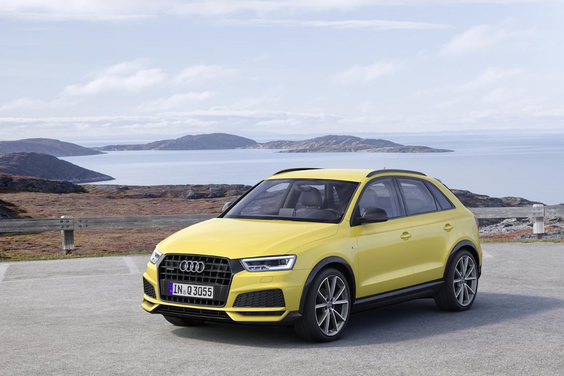 Audi Q3 2016 Facelifted Рестайлинг
