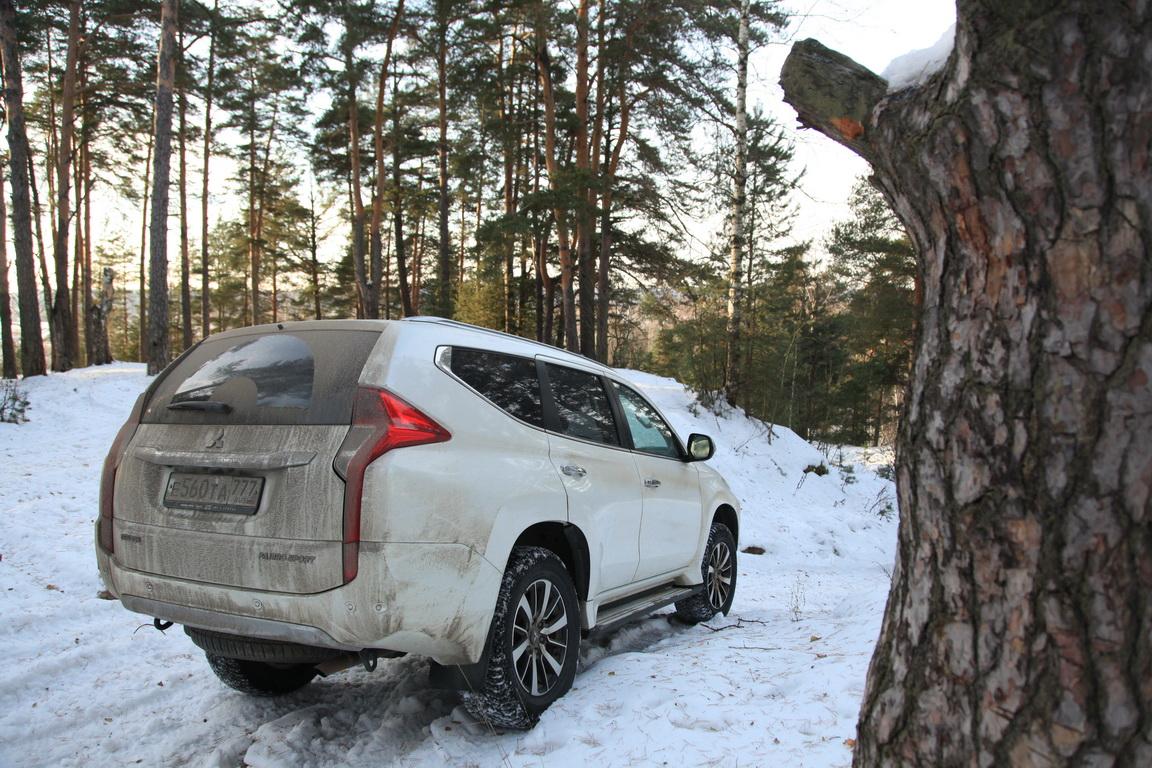 Mitsubishi Pajero Sport: Уже не алмаз, еще не бриллиант