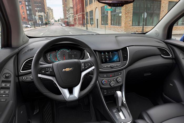 Chevrolet огласил стоимость нового кроссовера Trax