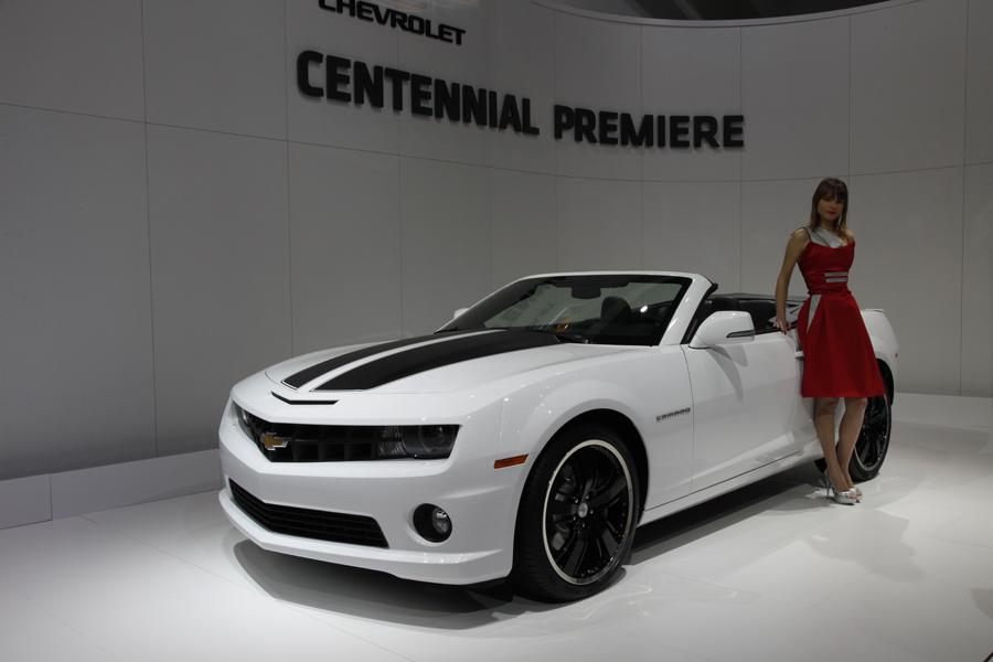 Chevrolet на Женевском Автосалоне 2011