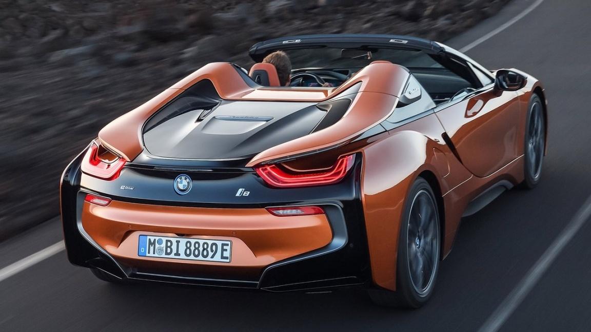 BMW i8 Roadster 2018
