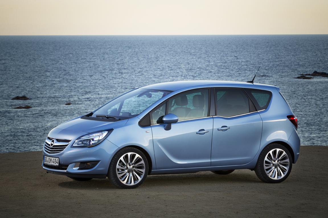 Opel Meriva: Немецкие семейные традиции