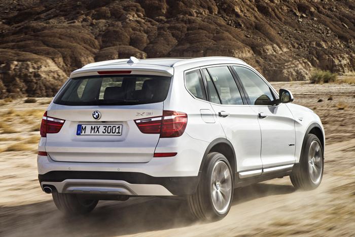 BMW X3 2014 Российские цены