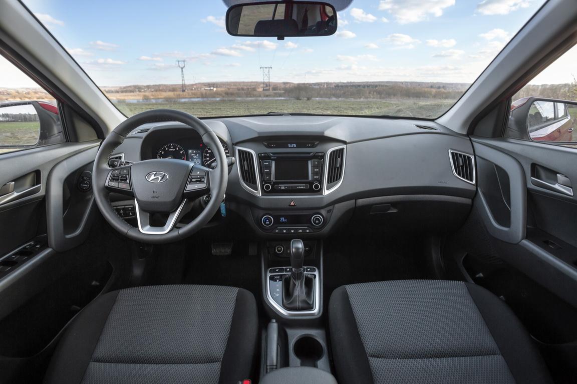 Hyundai Creta 1,6: теперь и 4х4