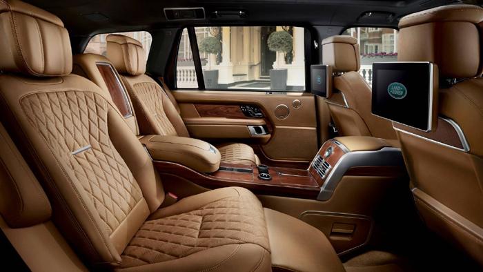 Range Rover представлен всамой шикарной версии SVAutobiography